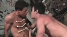 Gays were getting it on long ago in the caves where they lived