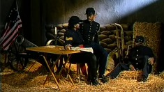 Civil war era gentlemen go interracial during a wild threesome